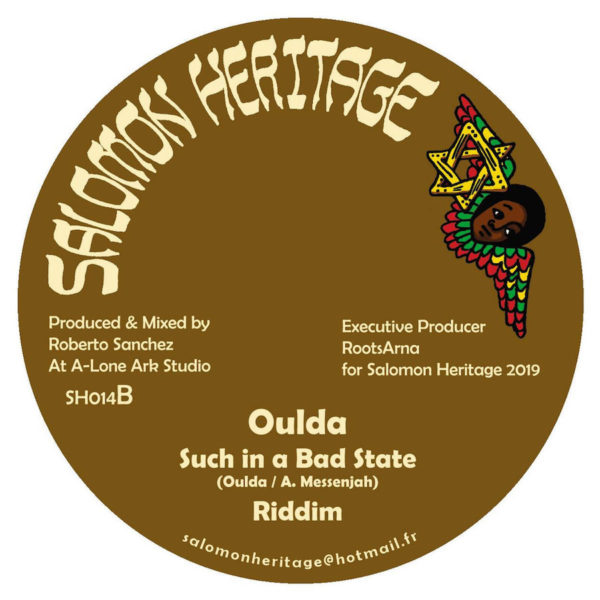 Oulda Such In A Bad State 12 vinyl