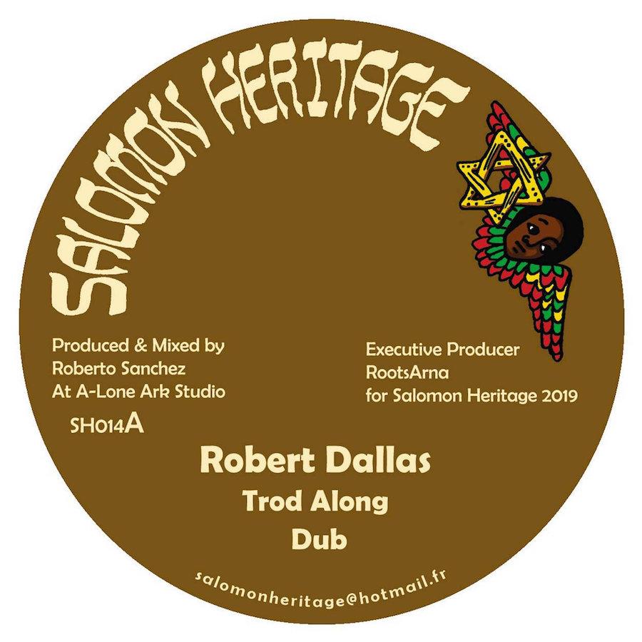 Robert Dallas Trod Along 12 vinyl