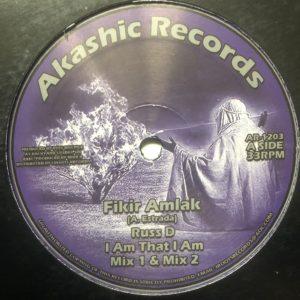 Fikir Amlak I Am That I Am 12 vinyl