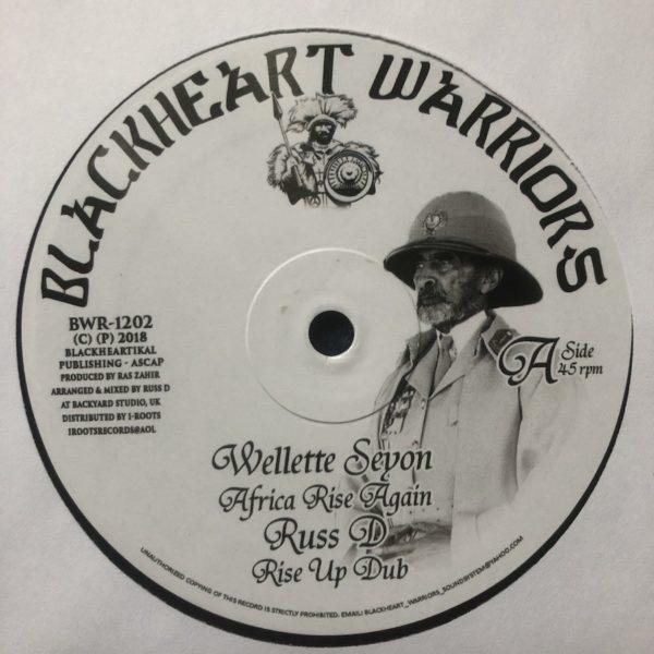 Wellette Seyon Africa Rise Again 12 vinyl