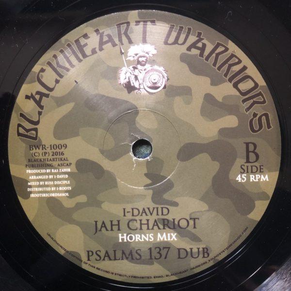 I-David Jah Chariot 10 vinyl