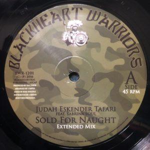 Judah Eskender Tafari Sold For Naught 10 vinyl
