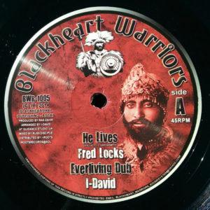 Fred Locks He Lives 10 vinyl
