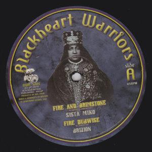 Sista Miko Fire And Brimstone 10 vinyl