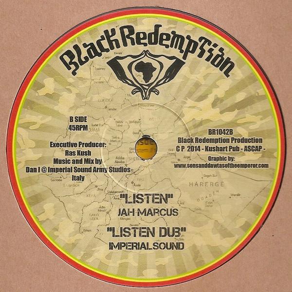 Jah Marcus Listen 10 vinyl