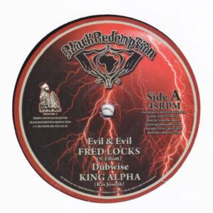 Fred Locks Evil And Evil 10 vinyl