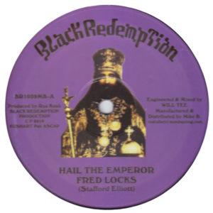 Fred Locks Hail The Emperor 10 vinyl