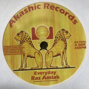 Ras Amlak Everyday 7 vinyl