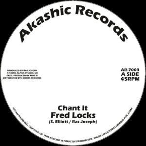 Fred Locks Chant It 7 vinyl