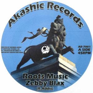 Zebby Blax Roots Music 7 vinyl