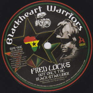 Fred Locks Not Only The Black Star Liner 7 vinyl