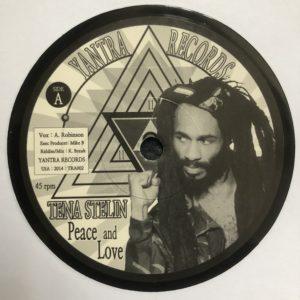 Tenastelin Peace And Love 7 vinyl