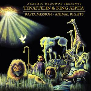 Tenastelin King Alpha Rasta Mission / Animal Rights 12 vinyl