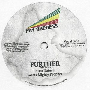 Idren Natural Meets Mighty Prophet Further 7 vinyl