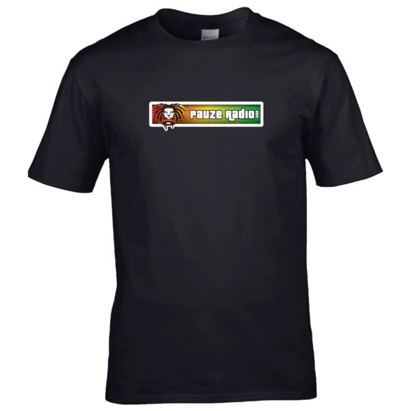 Pauzeradio Reggae T-Shirt Black