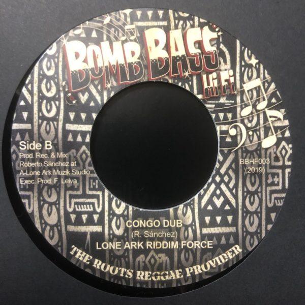 Lone Ark Riddim Force Congo Dub 7 vinyl