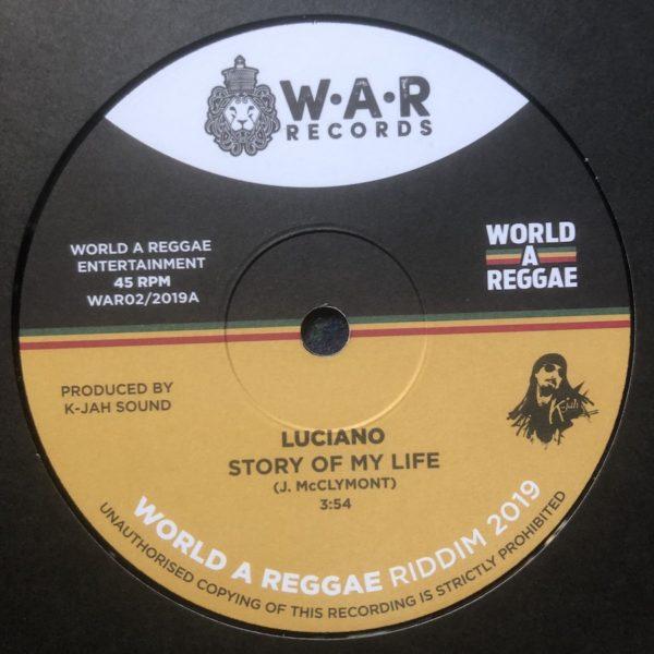 Luciano Story Of My Life 7 vinyl