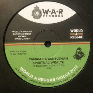 Tamika ft Gentleman Spiritual Wealth 7 vinyl