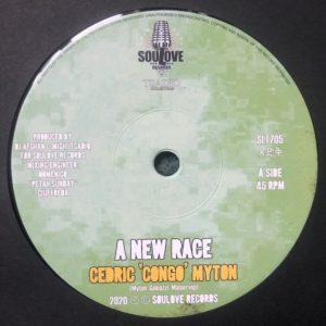 Cedric Myton A New Race 7 vinyl