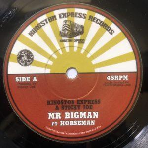 Horseman Mr Bigman 7 vinyl