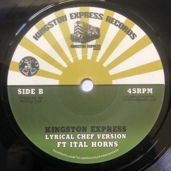 Macka B Lyrical Chef Version 7 vinyl