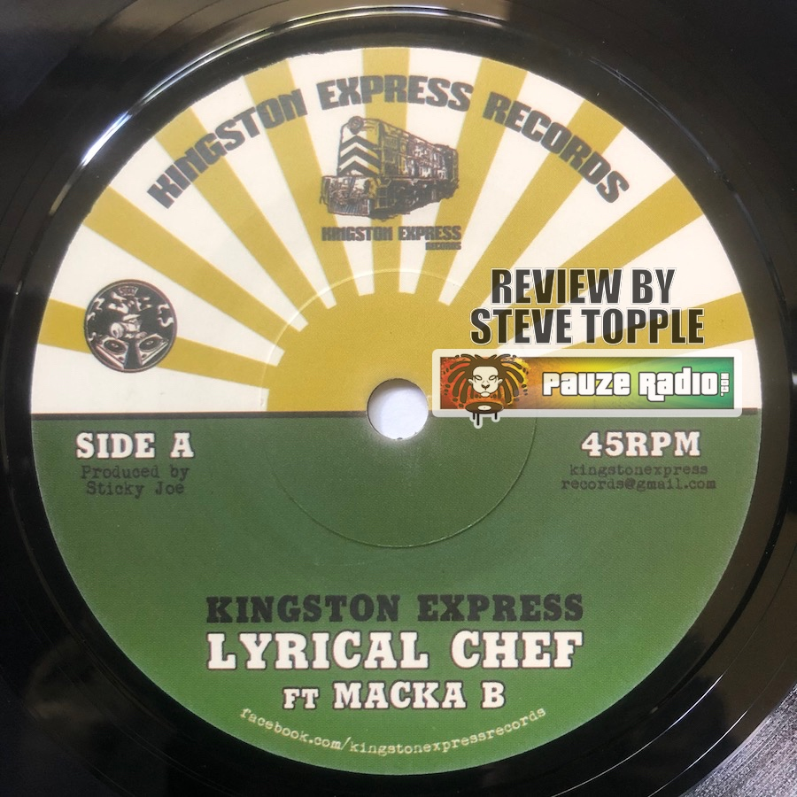 "Macka B Lyrical Chef 7"" Vinyl Review"