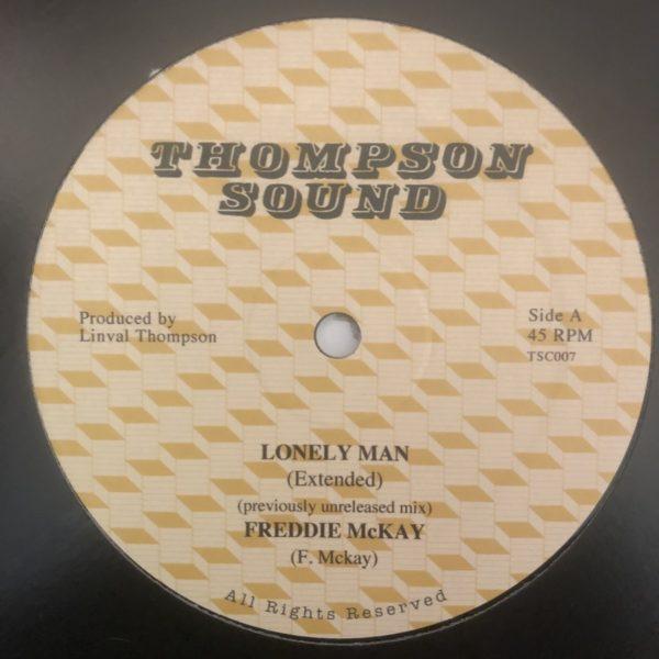 Freddie McKay Lonely Man 12 vinyl