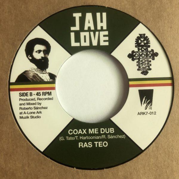 Ras Teo Coax Me Dub 7 vinyl