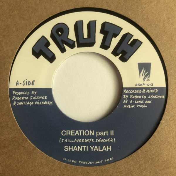 Shanti Yalah Creation Part 2 7 vinyl