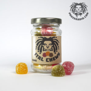 Ital Chews CBD Gummies Jar Front