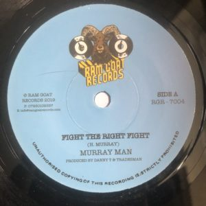 Murray Man Fight The Right Fight 7 vinyl