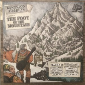 Kingston Express The Foot Of The Mountain 12 vinyl LP