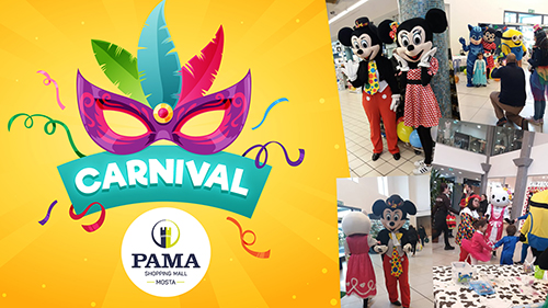 CARNIVAL WEEKEND AT PAMA MALL