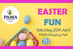 Easter Kids Fun at PAMA Mall