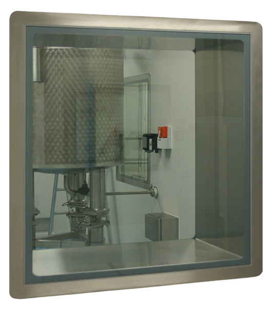 Double Glazed Vision Panel AR-V