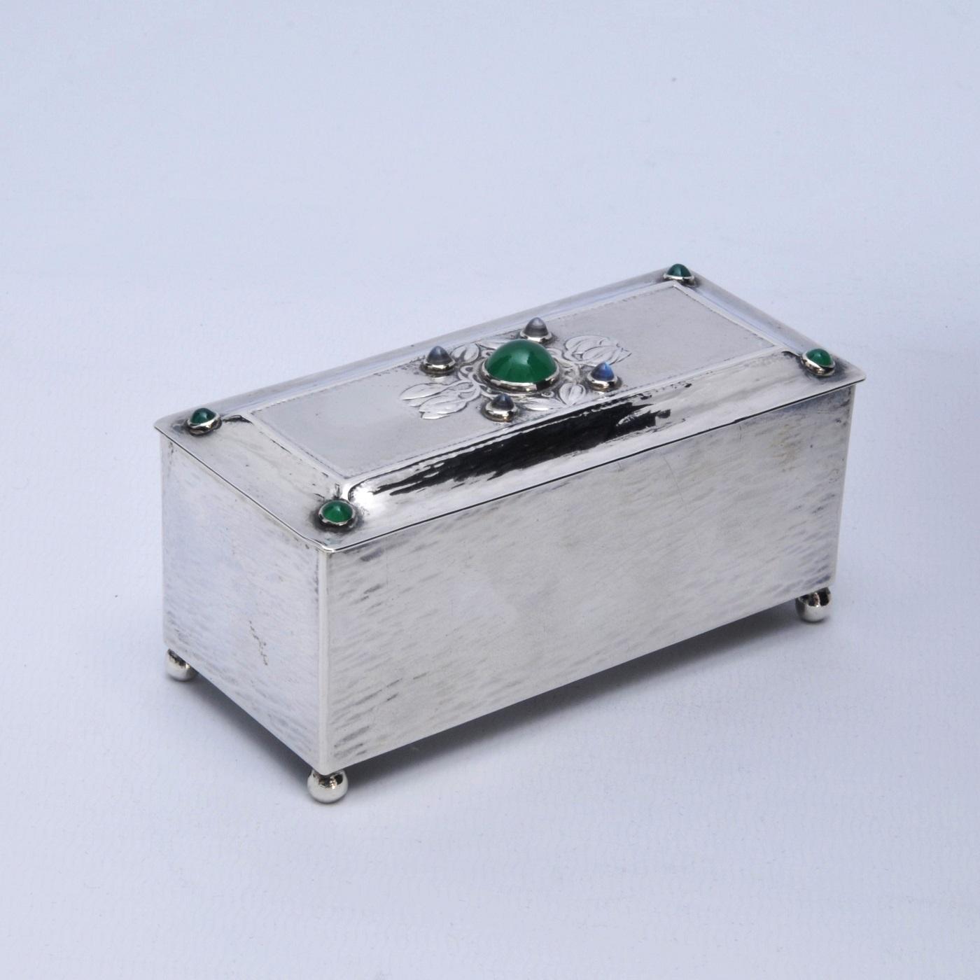 Guild Handicraft stone set box