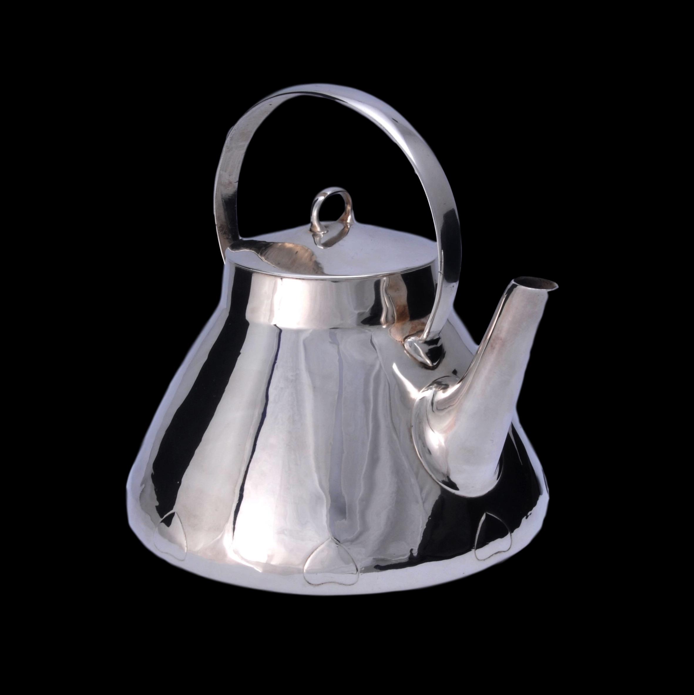 Liberty Cymric tea pot, Archiballd Knox