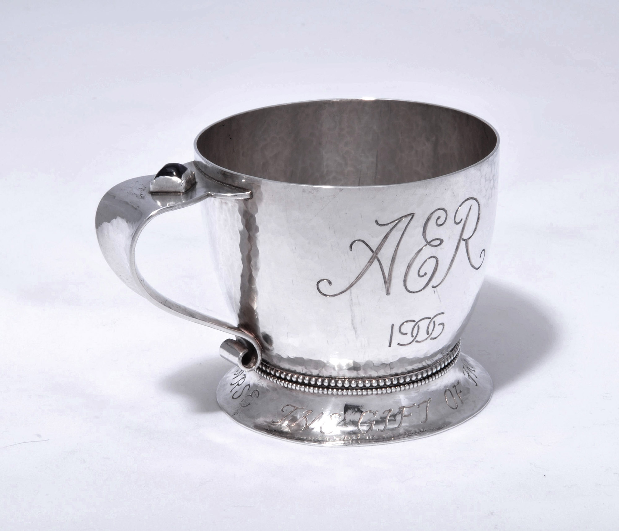 William Snelling Hadaway christening cup