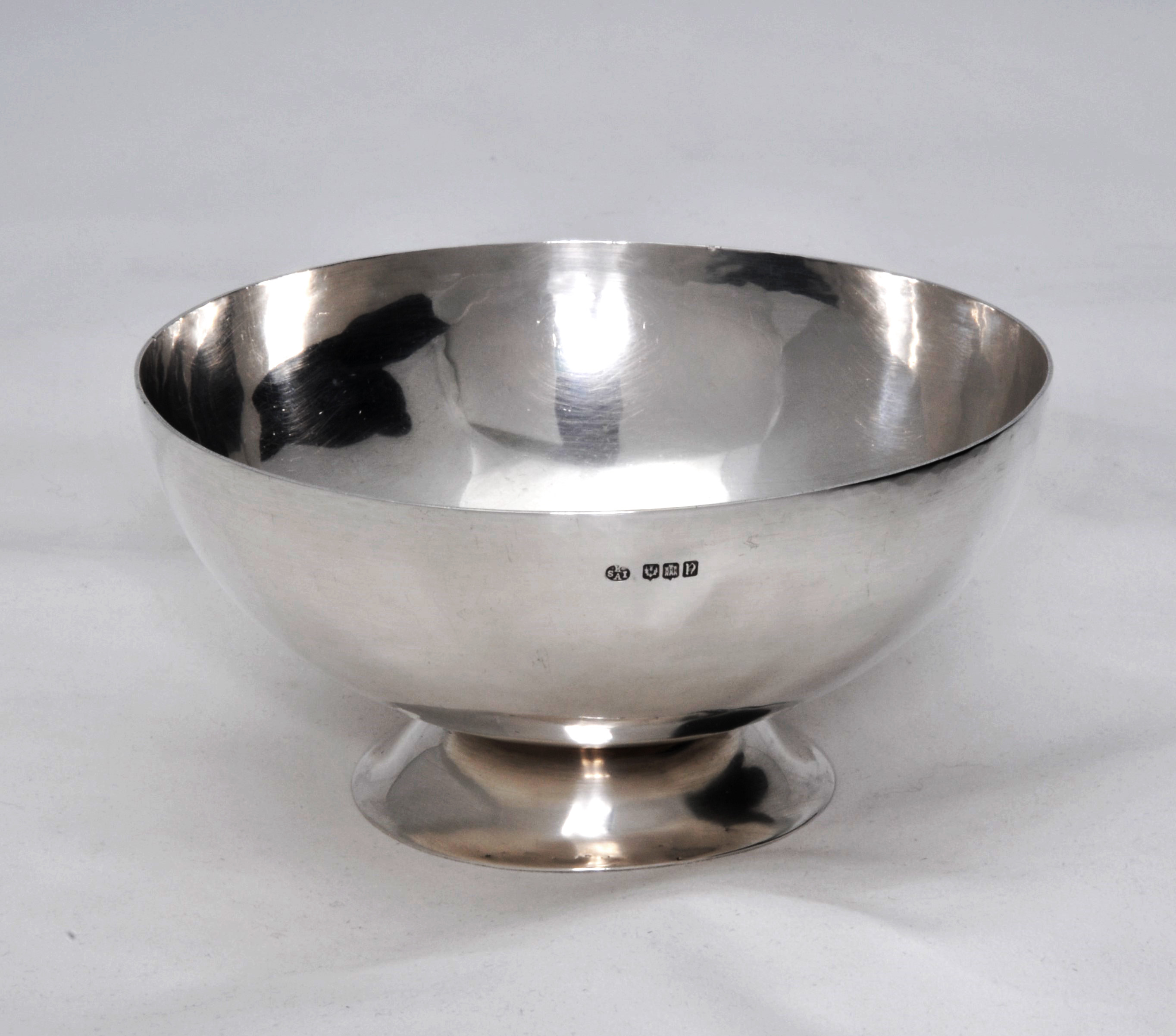 Keswick School of Industrial Arts silver bowl