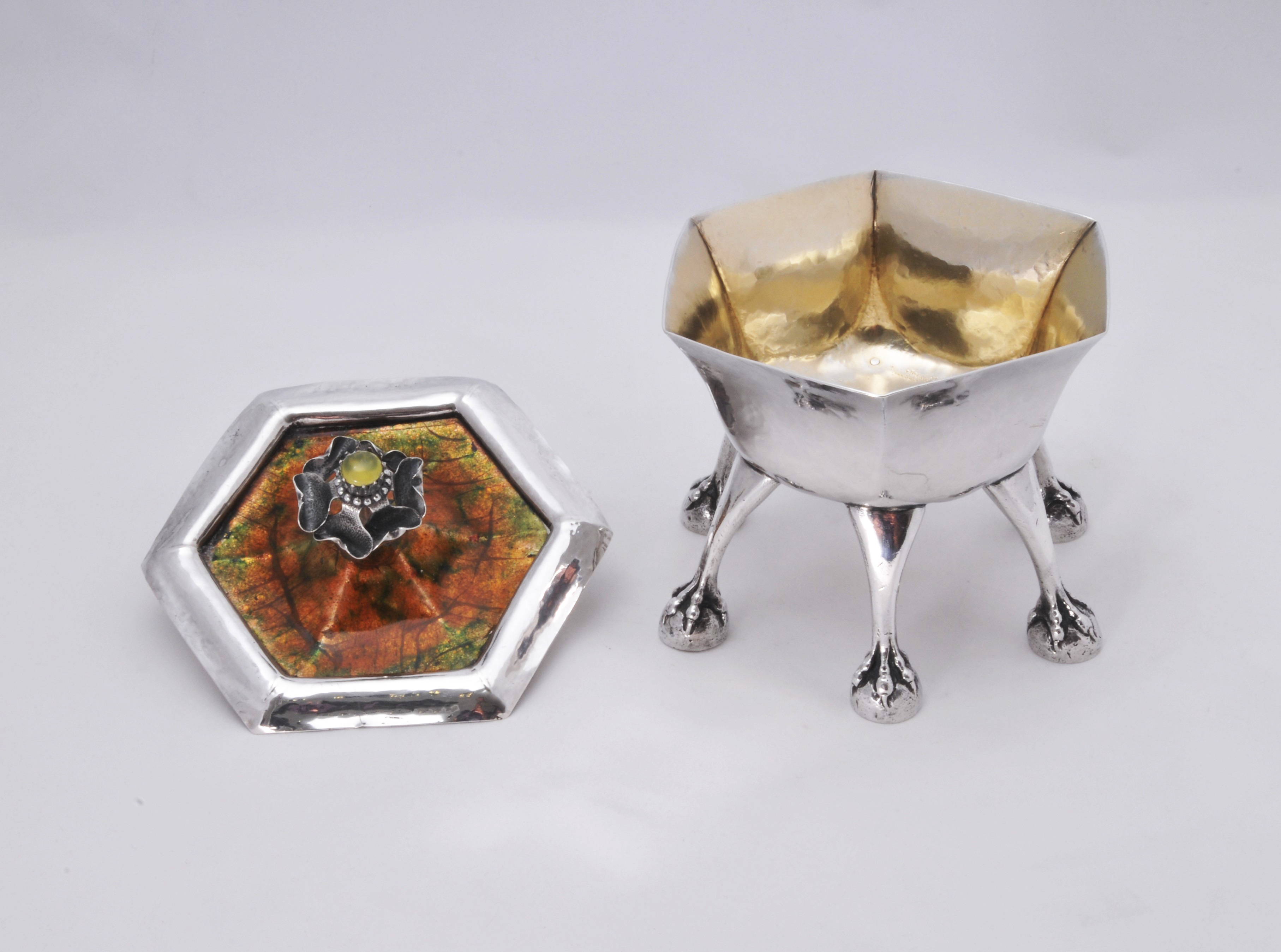 Charles Ashbee Guild of Handicraft silver cup
