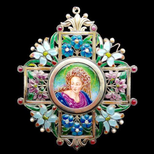 Comte Enguerrand du Suau de la Croix pendant