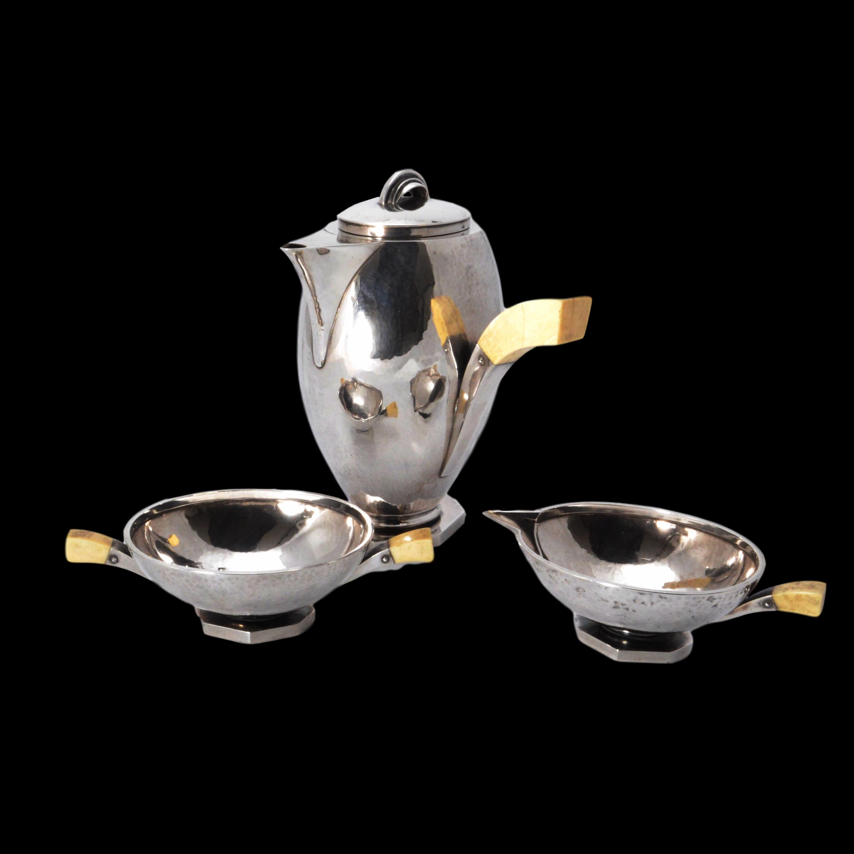 Hans Hansen cafe au lait set