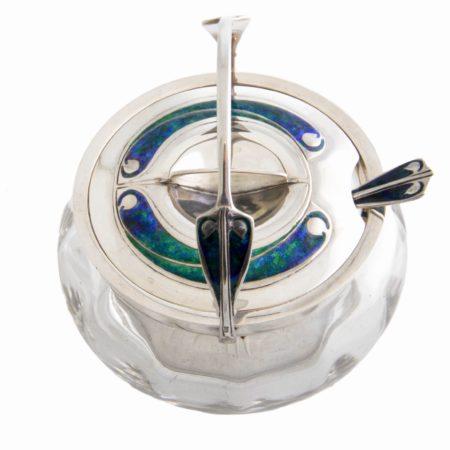 Archibald Knox Cymric Liberty silver jar