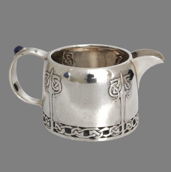 Archibald Knox Cymric Liberty silver milk jug