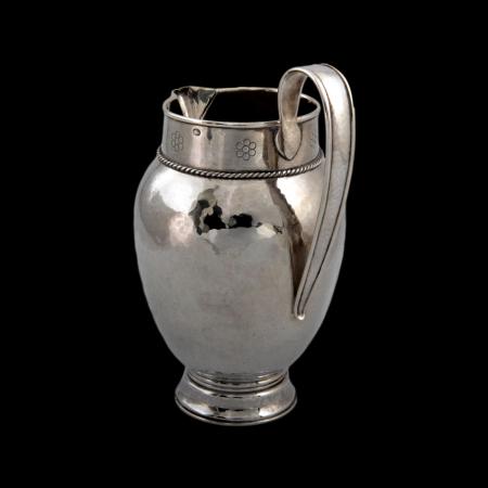 Keswick School silver jug
