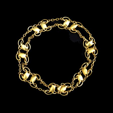 Archibald Knox for Liberty gold bracelet