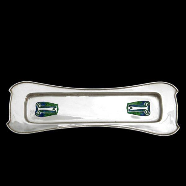 Liberty Cymric silver tray, Archibald Knox tray