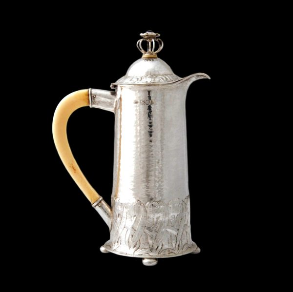Charles Ashbee Guild of Handicraft silver jug