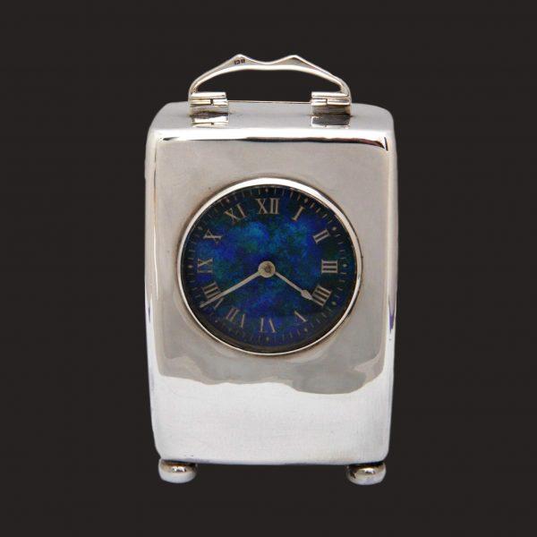 Liberty Cymric silver clock
