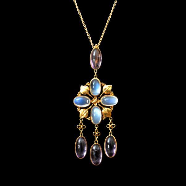Liberty & Co pendant, bernard Cuzner